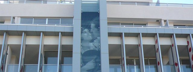 Printing Images on Glass Façades