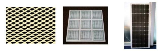 Imitations of Streakmetal ; Glassbricks ; PV Cells